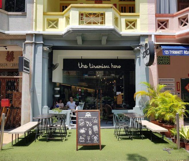 本家シンガポールのティラミスヒーローに行ってみた
