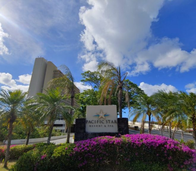 意味なくリゾートホテル宿泊。Pacific Star Resort and Spa