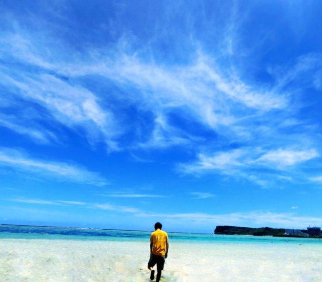 グアムの海はきれい!Pacific Star