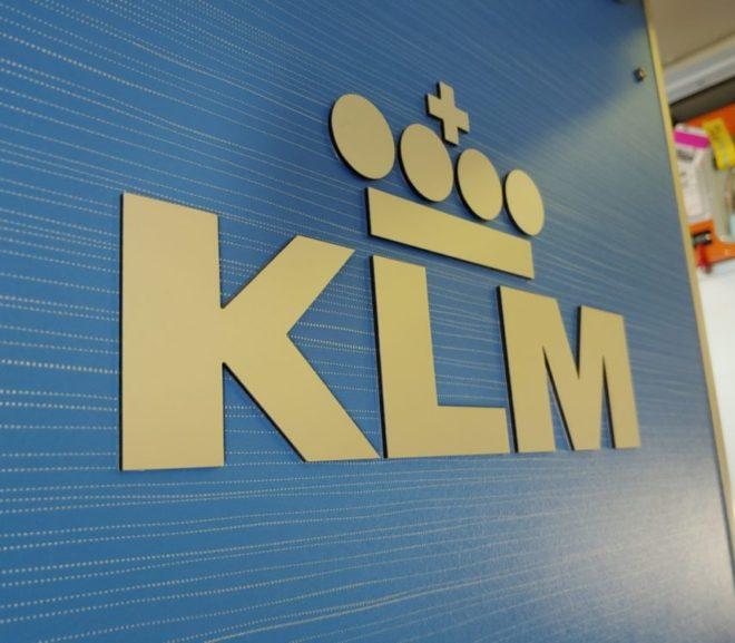 KLMビジネスクラス AMS-BUD KL1977
