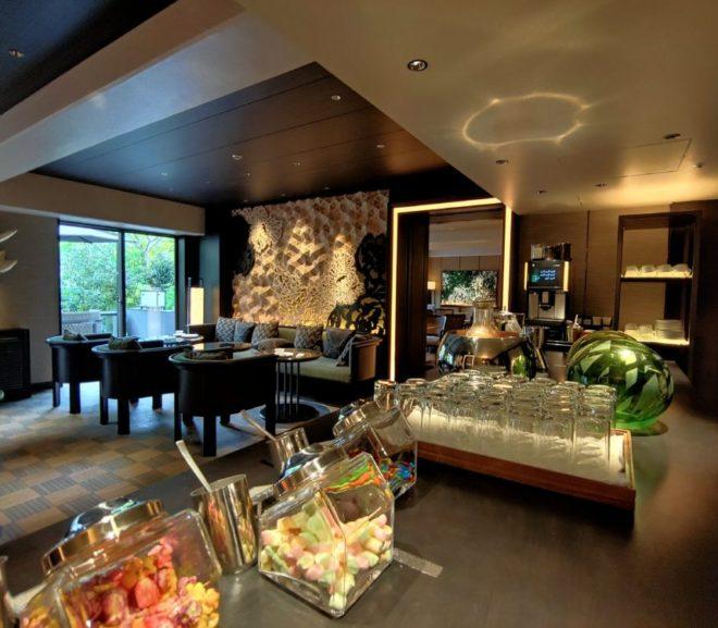 高輪地区プリンス3ホテルのクラブラウンジはしご