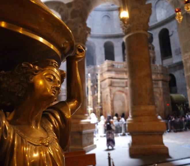 キリストのお墓を見る。聖墳墓教会