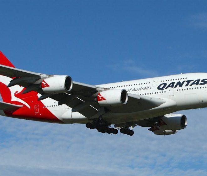 カンタス航空のA380ビジネスクラス