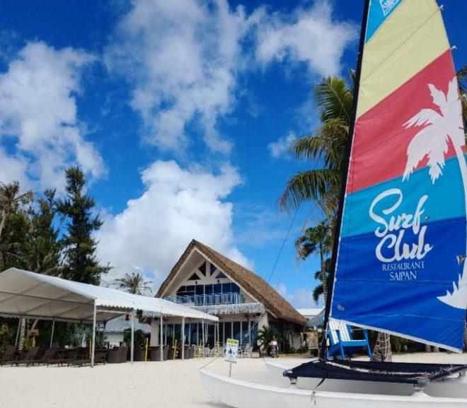 ビーチサイドのフォトジェニックなレストラン!Surf Club @サイパン