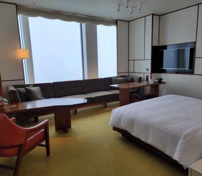 虎ノ門ヒルズのAndaz東京宿泊記(3)客室