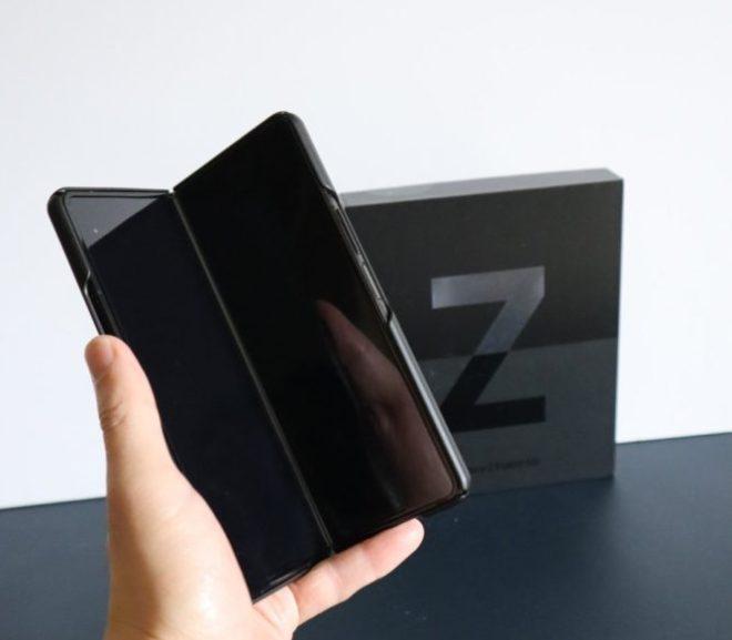 届いた!Galaxy Z Fold 3